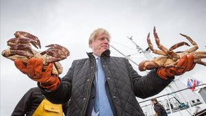 El primer ministro británico, Boris Johnson, en una reciente visita a Escocia,