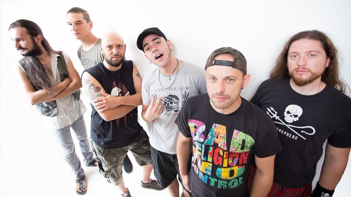 La banda italianaTalco, en una imagen de archivo.