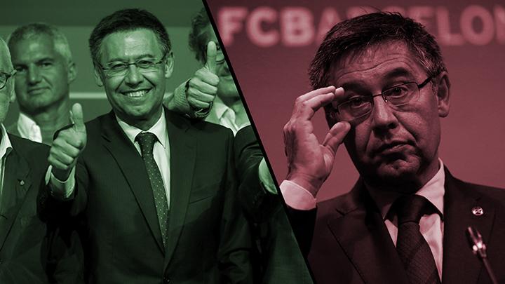 Bartomeu, ¿uno de los peores presidentes de la historia del Barça?