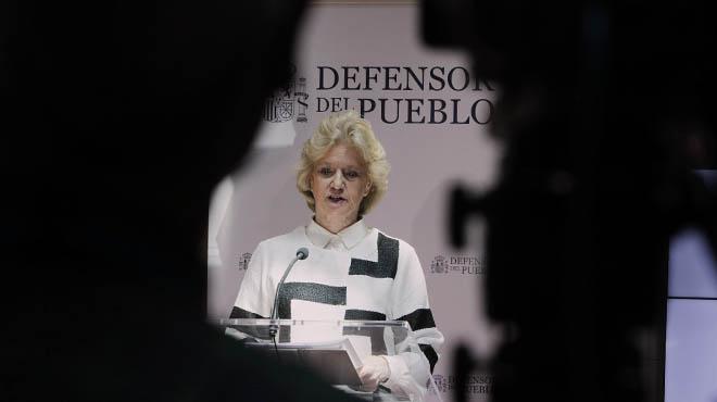 Soledad Becerril: Aquí acaba mi tiempo como Defensora del Pueblo.