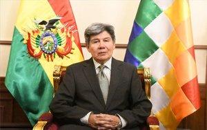 Elvicecanciller boliviano, Gualberto Rodríguez San Martín.