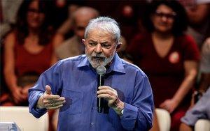 Luiz Inácio Lula da Silva en un evento público.