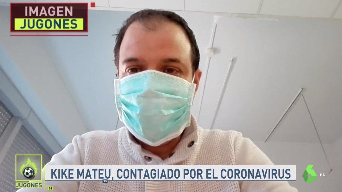 """Kike Mateu ('El Chiringuito') vence al coronavirus: """"Hoy lo celebro yo, mañana tú y pronto todos"""""""