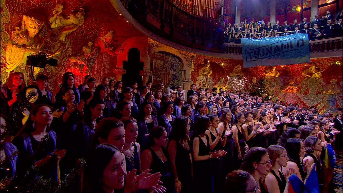 Concierto de Sant Esteve en el Palau de la Música.