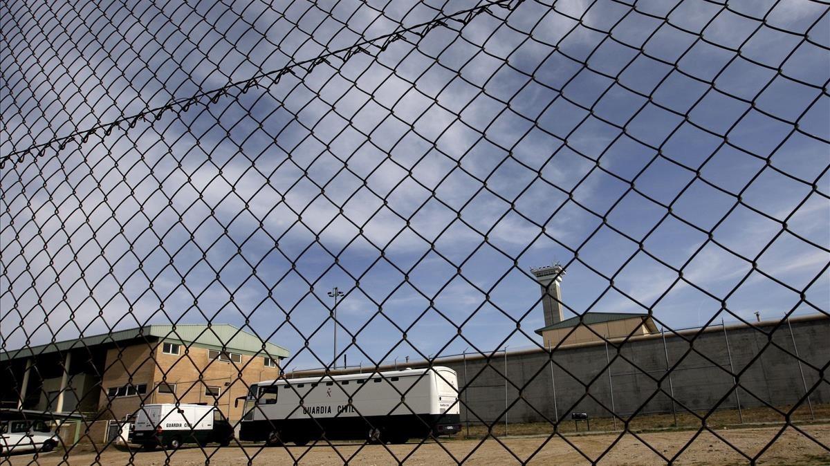 Centro penitenciario de Soto del Real, en Madrid.