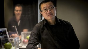 Cixin Liu, en su última visita a Barcelona.