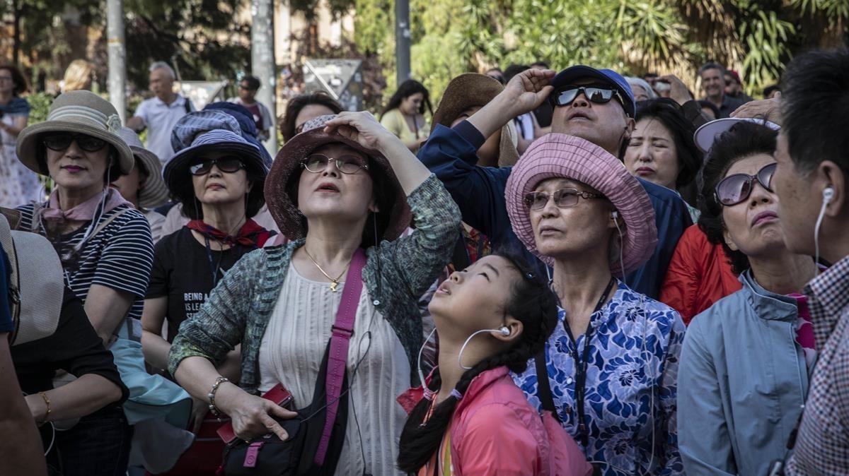 Un turisme menys rendible torna a Barcelona