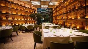 Restaurante LOlivé, en Balmes, 47, uno de los que lucen certificado de excelencia.