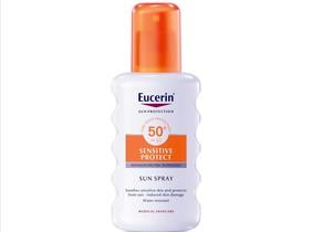 El protector solar Sun Spray FPS50 Sensitive Protect +, de Eucerin, no solo ayuda a proteger las pieles más sensibles del sol, sino que además gracias a su cómodo aplicador en spray, facilita la aplicación en cada zona del cuerpo.