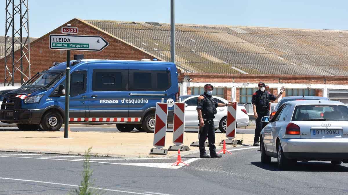 Catalunya decreta el confinament de la comarca de Lleida pels rebrots