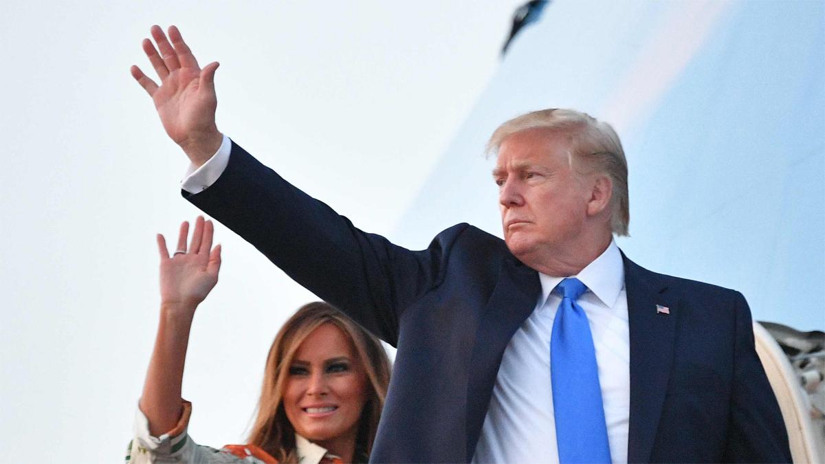 Críticas y tensión en el arranque de la visita de Trump al Reino Unido