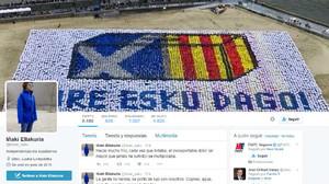 La cuenta de Twitter de Iñaki Elakurria, el joven bilbaíno herido en el atentado de Berlín.