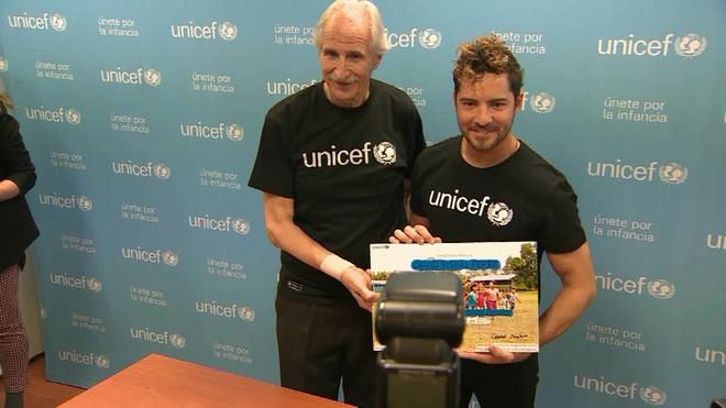 El cantante almeriense David Bisbal ha sido nombrado embajador de UNICEF Comité Español.