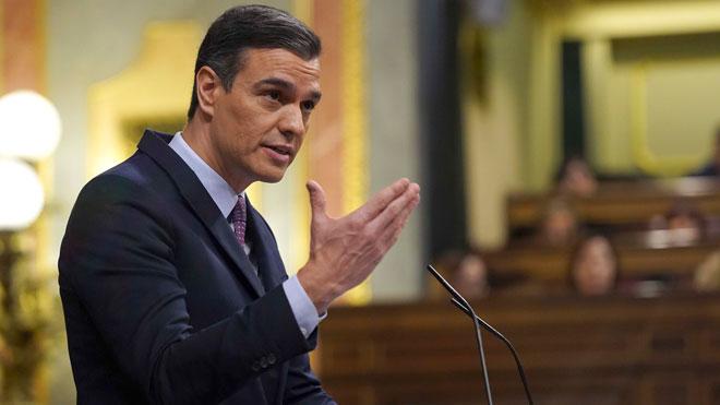 Debate de investidura. Pedro Sánchez anuncia que quiere poner en marcha un Instituto de Transición Justa.