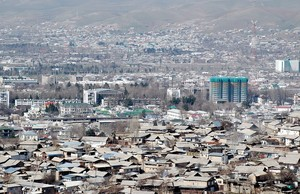 Imagen de Dusambe, la capital de Taykistán.