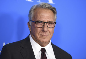 FILE - In this Aug. 2, 2017 file photo, Dustin Hoffman arrives at the Hollywood Foreign Press Association Grants Banquet in Beverly Hills, Calif. Hoffman is apologizing for alleged sexual harassment of a 17-year-old intern in 1985. Writer Anna Graham Hunter alleges that the 80-year-old actor groped her on the set of TV movie â¿¿Death of a Salesmanâ¿¿ and â¿¿talked about sex to me and in front of me.â¿¿ (Photo by Jordan Strauss/Invision/AP, File)