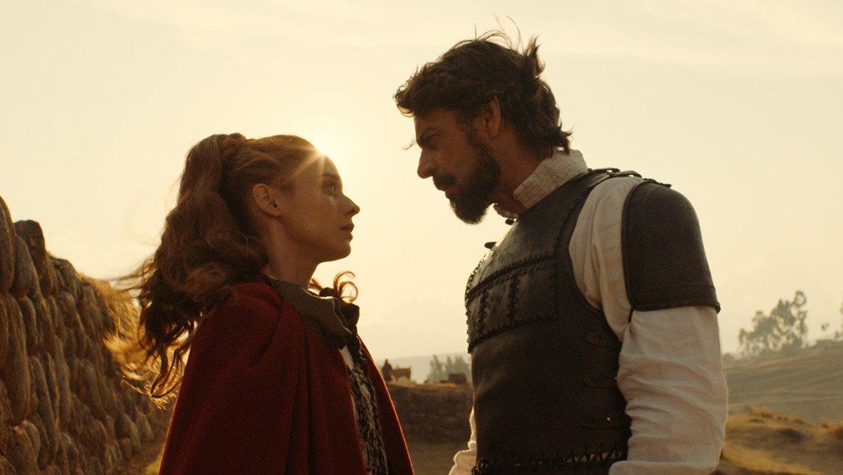 Elena Rivera y Eduardo Noriega, en 'Inés del alma mía'.