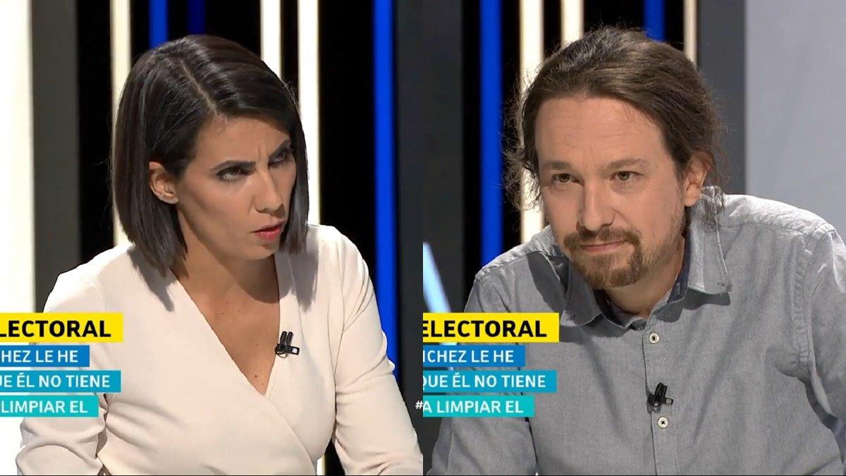 Cruce de dardos entre Ana Pastor y Pablo Iglesias en su tensa entrevista en 'El objetivo'