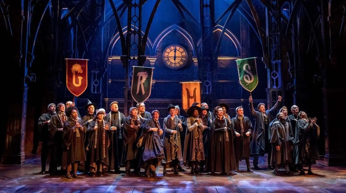 Escena de los ensayos de Harry Potter and the cursed child