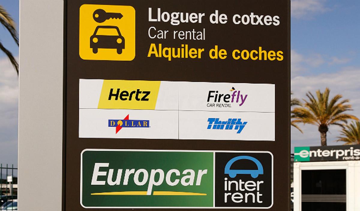 Europcar en el Aeropuerto de Barcelona.