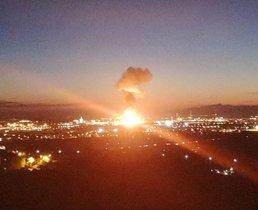 Explosión en la petroquímica de Tarragona.
