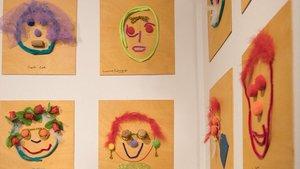 Exposición artística del Laboratori d'Art Comunitari de Sant Boi de Llobregat