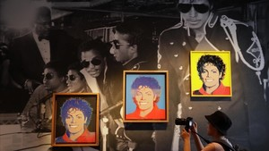 Exposición 'Michael Jackson: On the wall' en Londres
