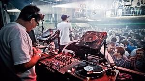 Una sesión electrónica en el club londinense Fabric.