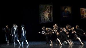 Picasso balla el seu amor per les dones