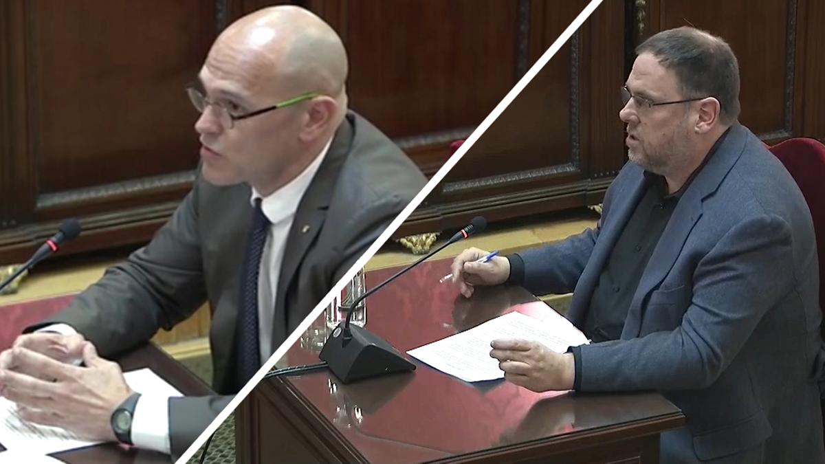 Final del juicio del procés. Últimas palabras de Oriol Junqueras y Raül Romeva