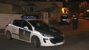 Foto de archivo de un vehículo de la Guardia Civil.