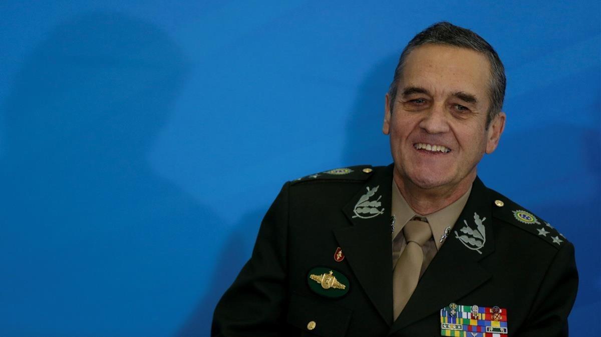 El generalEduardo Villas Boas.