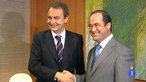 Zapatero y Bono cuando eran rivales (La 1).