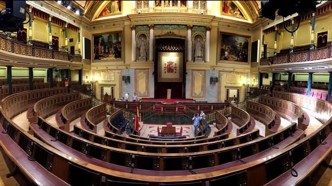 Sesión de constitución del Congreso de los Diputados | Directo