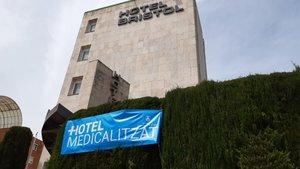 El hotel medicalizado en Sant Andreu de la Barca.