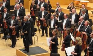 Un momento del concierto de la Sinfónica de Viena en el Auditori.