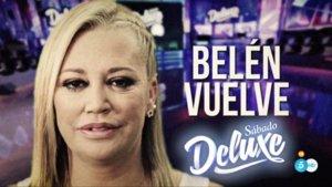 Imagen de la promo del regreso de Belén Esteban a 'Sábado Deluxe'.