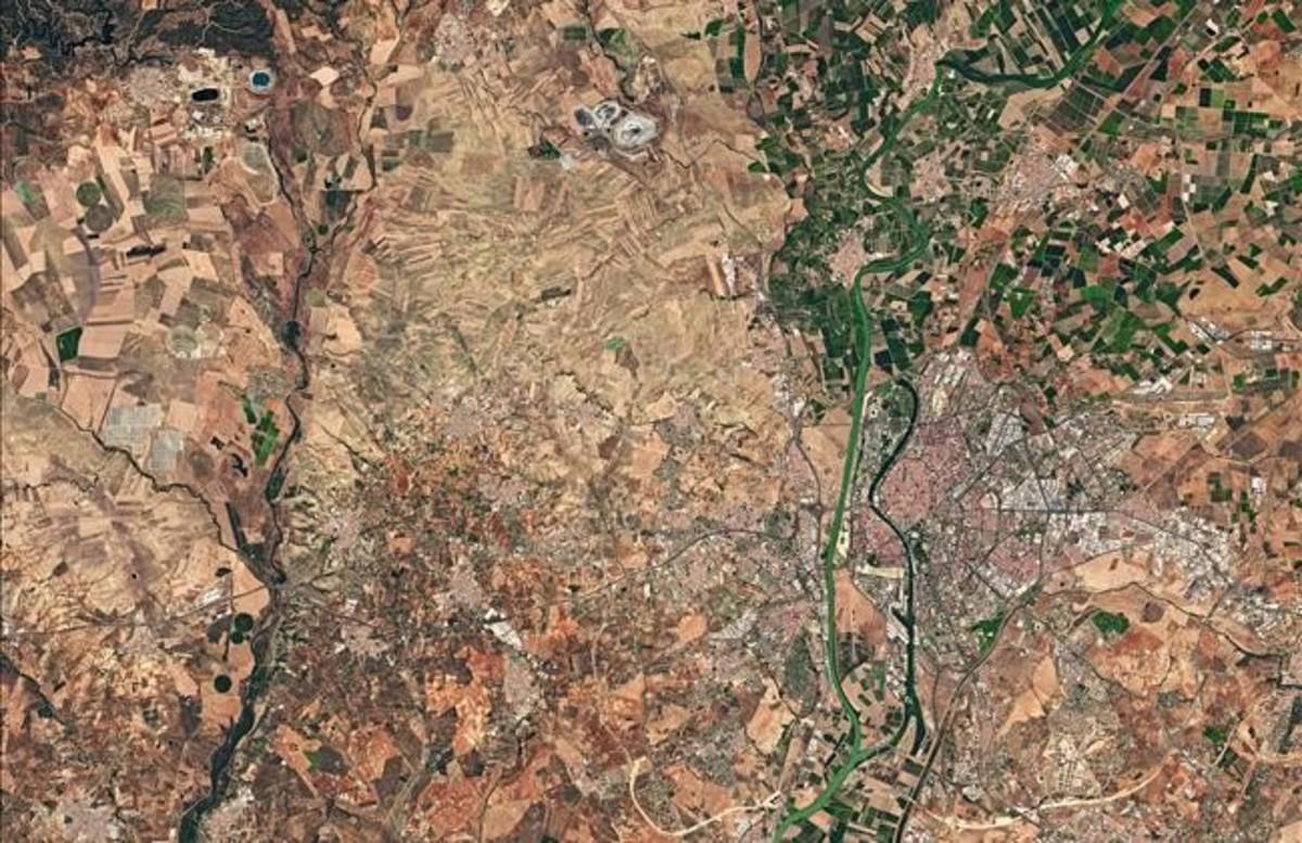 Sevilla vista desde el espacio