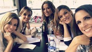 Las chicas de la primera edición de 'Operación Triunfo' se reúnen en un sorprendente 'challenge'