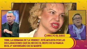 "Tensa entrevista a la hermana de La Veneno en 'Sálvame': ""En la familia le llamamos Joselito"""