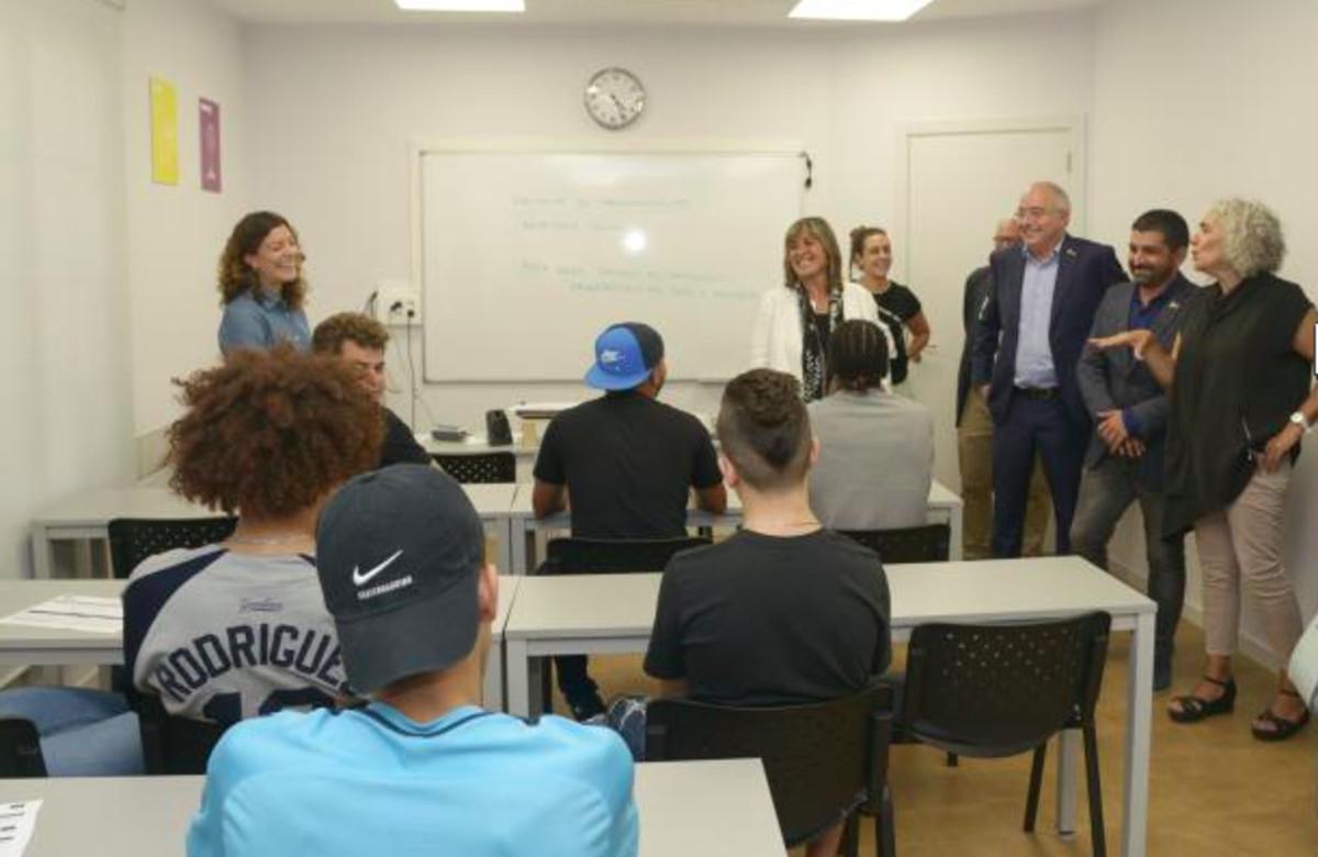 Inauguración del nuevo curso en la Escuela Restaurante Tragaluz de la Fundación El Llindar de LHospitalet