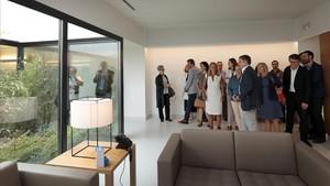 Inauguración del nuevo tanatorio de Áltima en Terrassa.