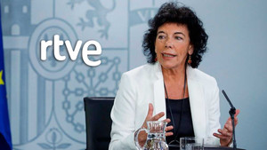 Isabel Celaá, ministra de Educación y portavoz del Gobierno.