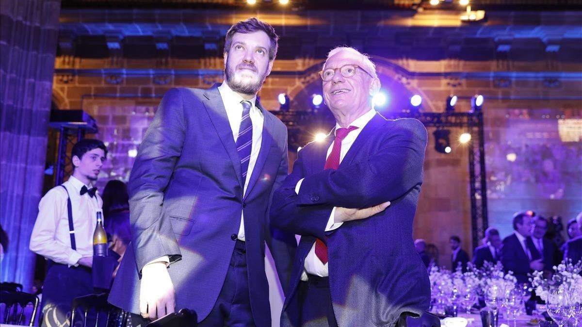 Isac Andic y Antonio Asensio Mosbah.