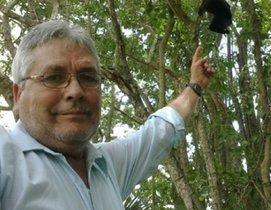 José Luis Álvarez Flores, defensor del santuario del mono saraguato en el estado suroriental mexicano de Tabasco.