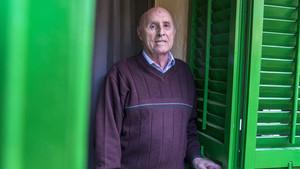 El histórico dirigente de CCOO, Josep Maria Folch, en una entrevista con EL PERIÓDICO.