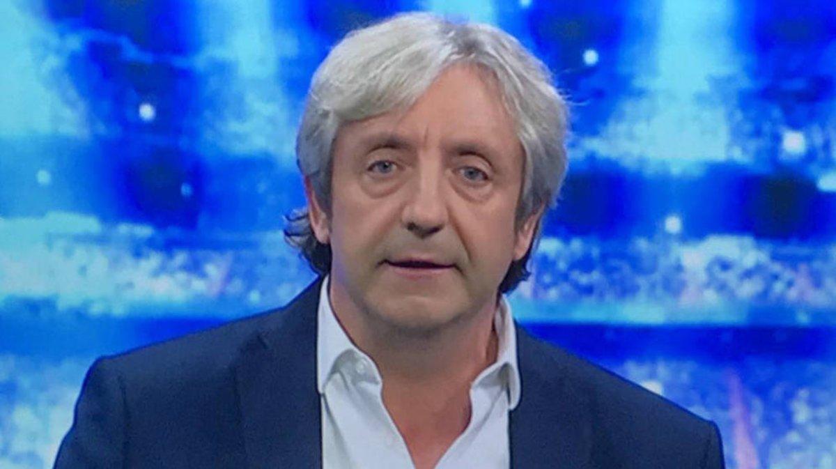 Josep Pedrerol, sin gomina, en El chiringuito.