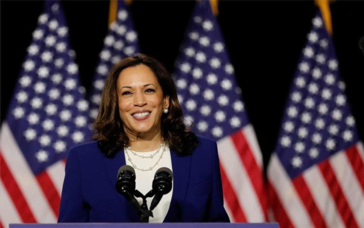 Kamala Harris, aspirante demócrata a la vicepresidencia de los EEUU.