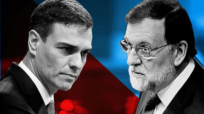 Las tres falsedades de Rajoy durante la moción de censura.