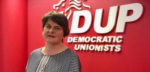 La líder del partido unionista norirlandés, Arlene Foster.